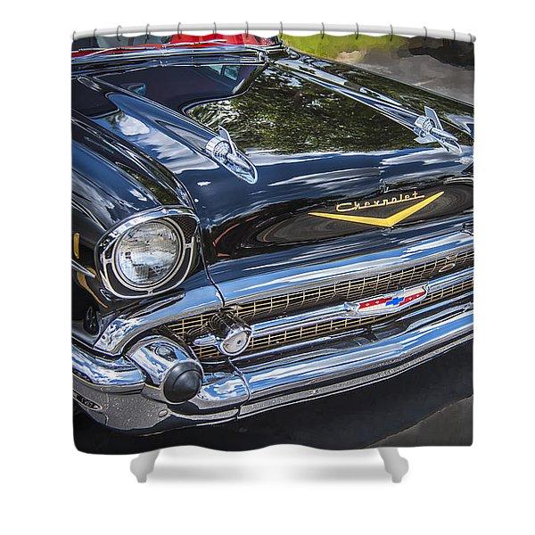1957 Chevrolet Bel Air Shower Curtain