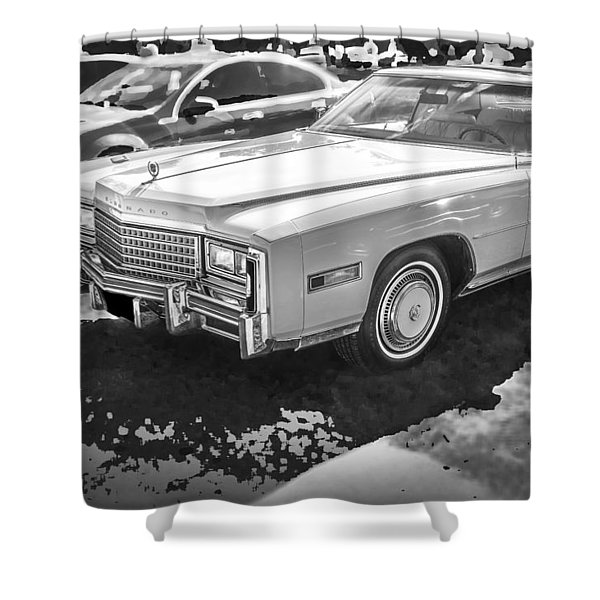 1978 Cadillac Eldorado Shower Curtain