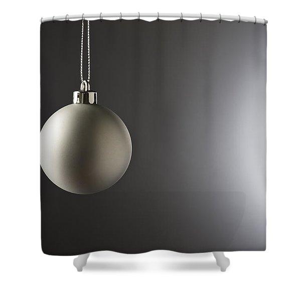 Christmas Bauble  Shower Curtain
