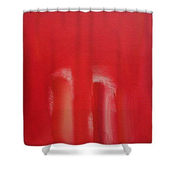 Figures In A Souk Shower Curtain