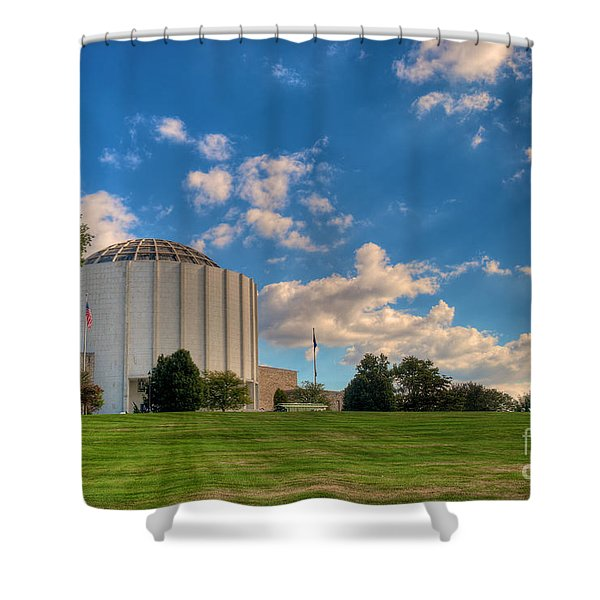 Founders Hall Shower Curtain
