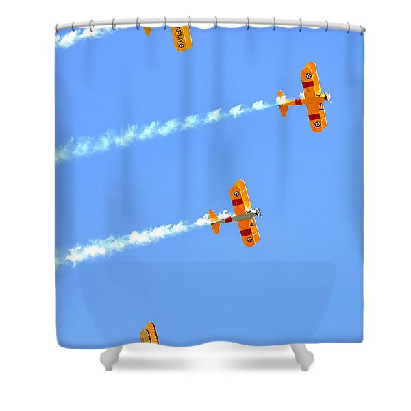 4 Planes 12934 Shower Curtain