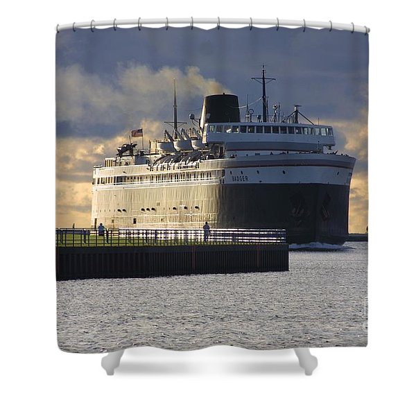 Ss Badger Shower Curtain