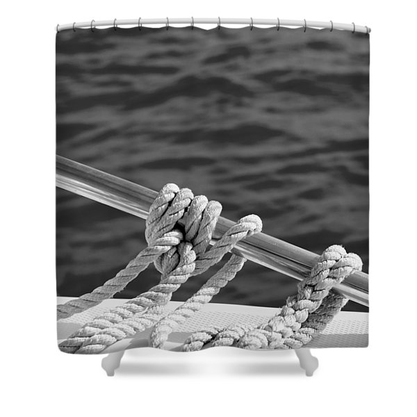 The Ropes Shower Curtain