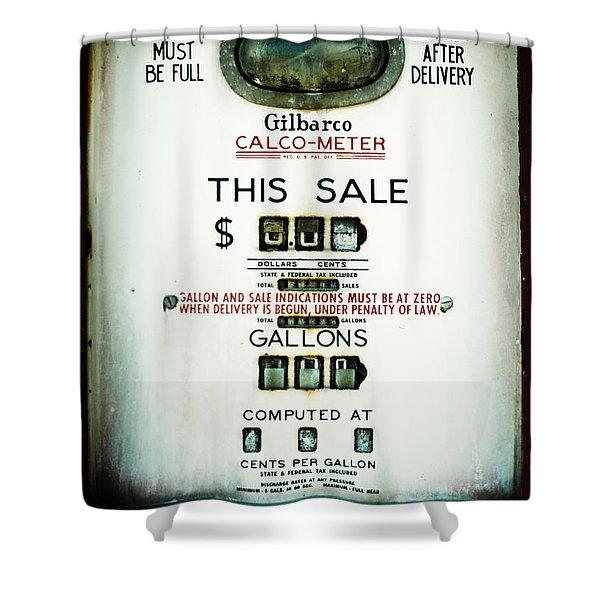 45 Cents Per Gallon Shower Curtain