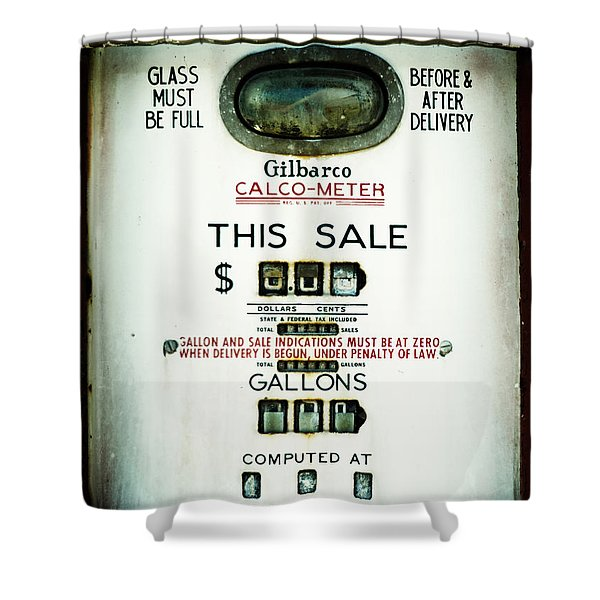 45 Cents Per Gallon Shower Curtain