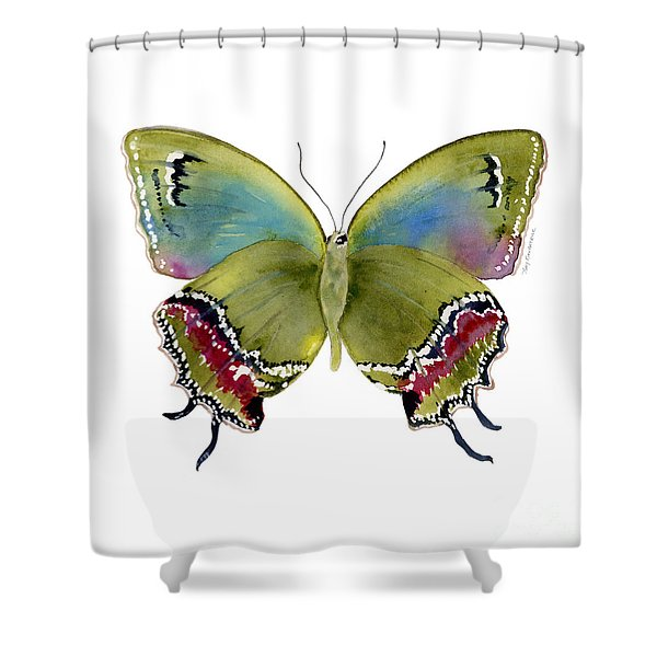 46 Evenus Teresina Butterfly Shower Curtain