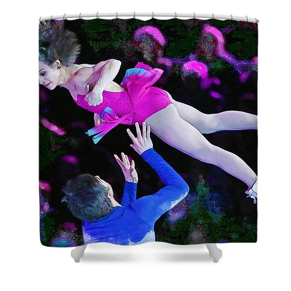 Meagan Duhamel And Eric Radford Shower Curtain