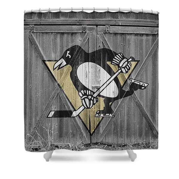 Pittsburgh Penguins Shower Curtain