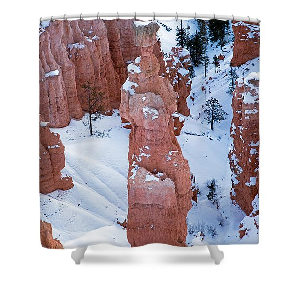 Sunset Point Bryce Canyon National Park Shower Curtain