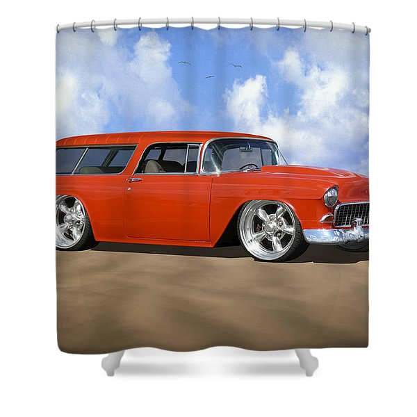 55 Nomad Shower Curtain