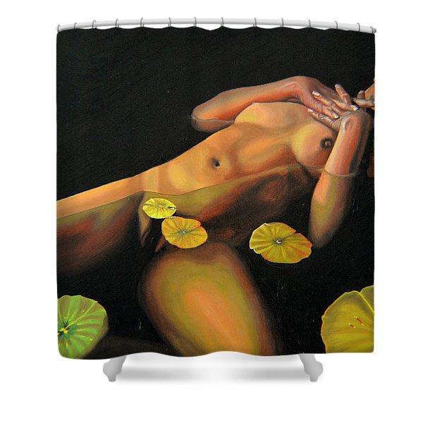 6 30 A.m. Shower Curtain