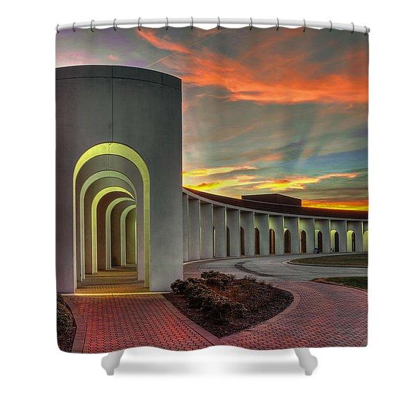 Ferguson Center For The Arts Shower Curtain