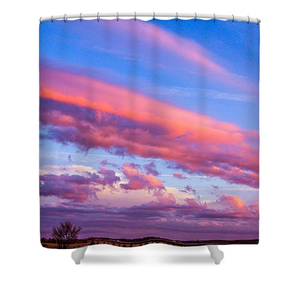 Severe Storms In South Central Nebraska Shower Curtain