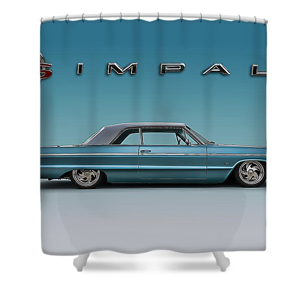 '64 Impala Ss Shower Curtain
