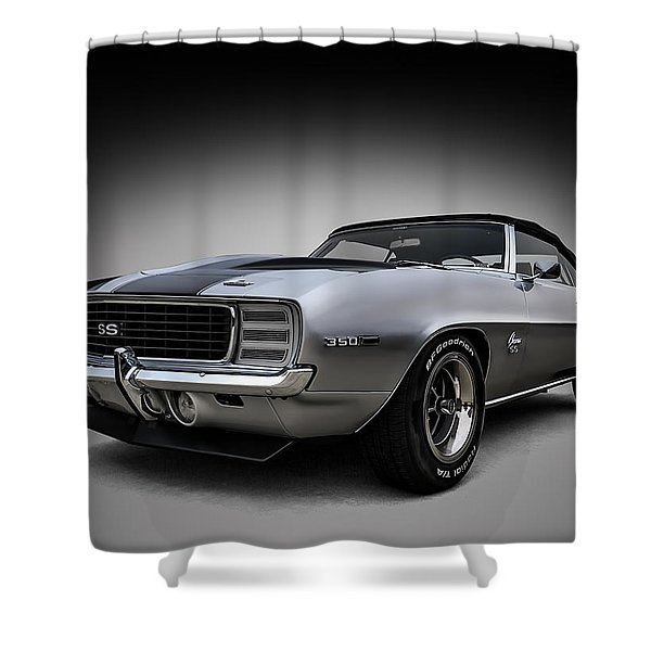 '69 Camaro Ss Shower Curtain