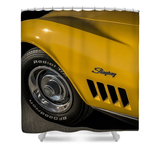 '69 Stinger Shower Curtain