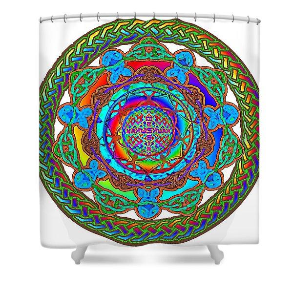 7 Fish Rainbow Yahushuah Messiah Shower Curtain