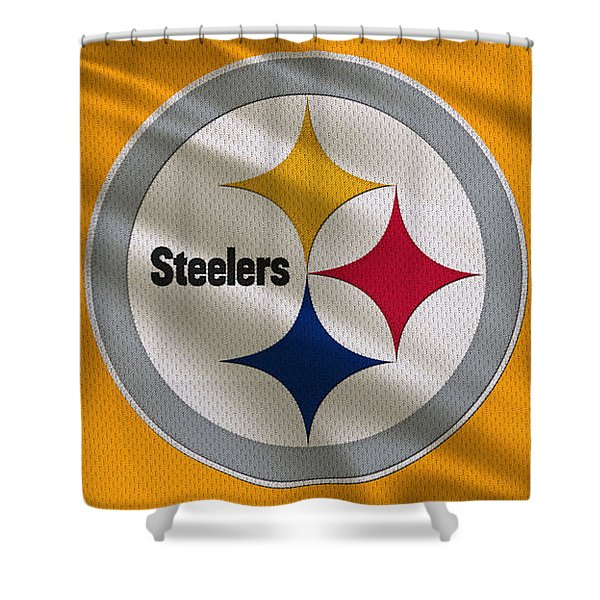 Pittsburgh Steelers Uniform Shower Curtain