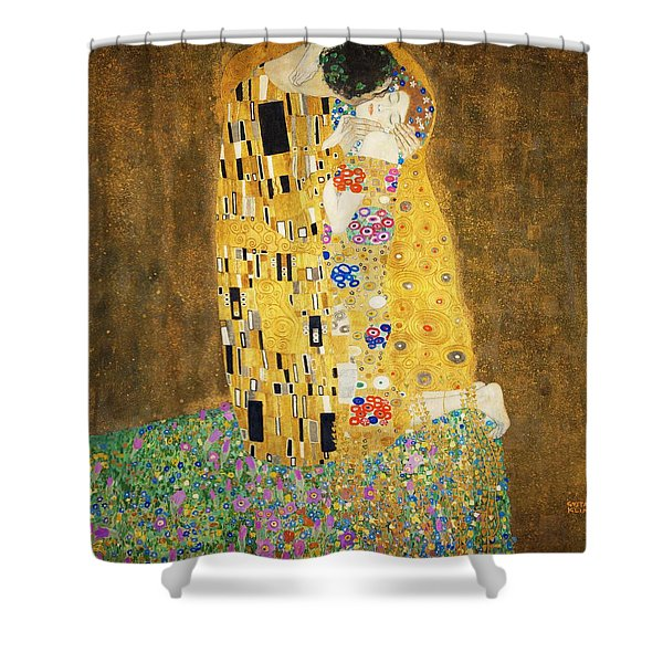 The Kiss Shower Curtain
