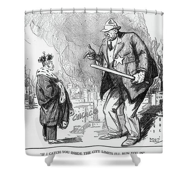 William H Shower Curtain