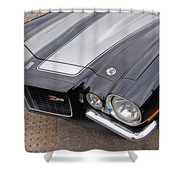71 Camaro Z28 Shower Curtain