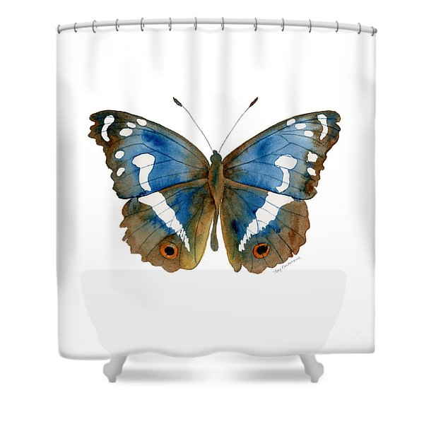 78 Apatura Iris Butterfly Shower Curtain