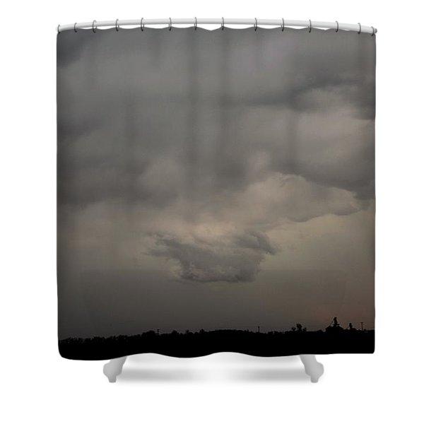 Let The Storm Season Begin Shower Curtain