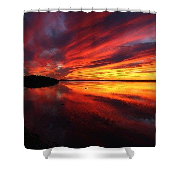 Missisquoi Sunset Shower Curtain