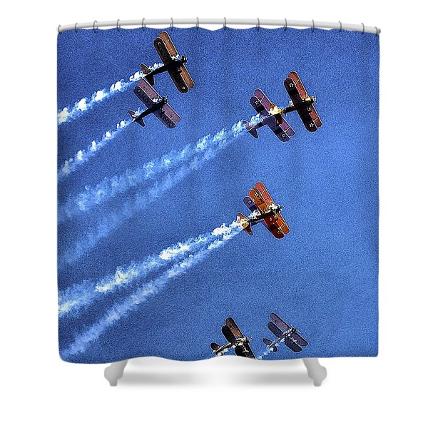 8 Planes 12932 Shower Curtain