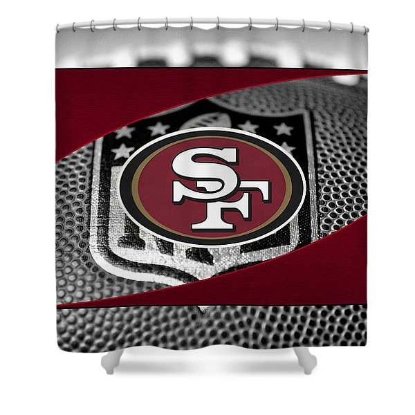 San Francisco 49ers Shower Curtain