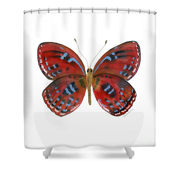 81 Paralaxita Butterfly Shower Curtain