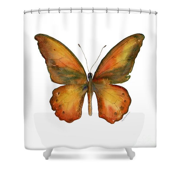 85 Lydius Butterfly Shower Curtain