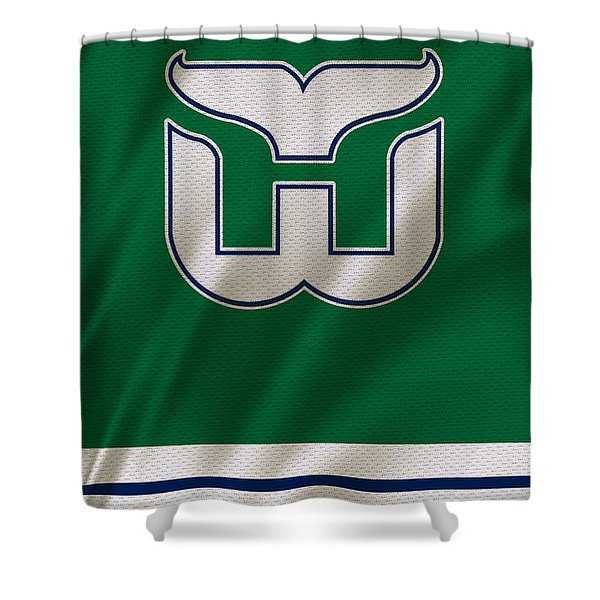 Hartford Whalers Shower Curtain