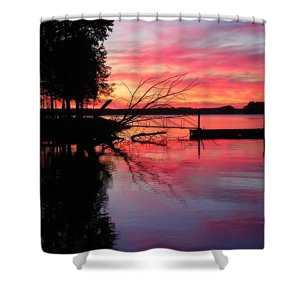 Sunset 9 Shower Curtain