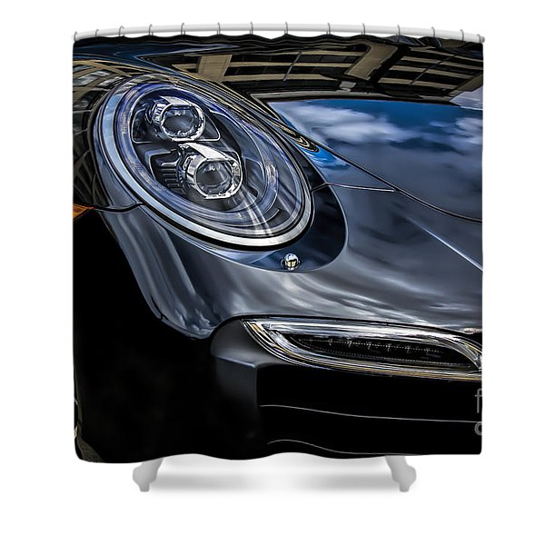 911 Turbo S Shower Curtain