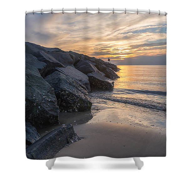 A Beautiful End Shower Curtain