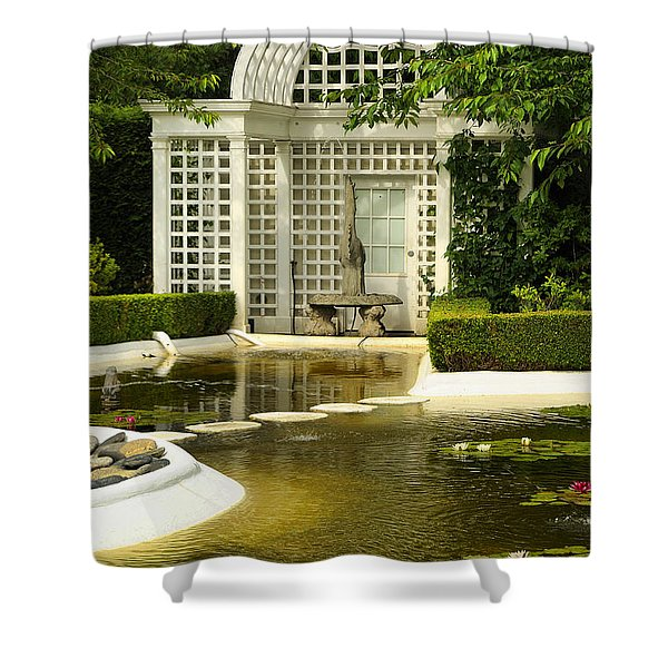 A Beautiful Place To Sit Shower Curtain