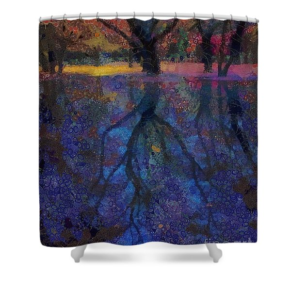 A Beautiful Reflection  Shower Curtain