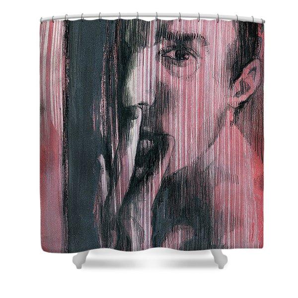 A Boy Named Silence Shower Curtain