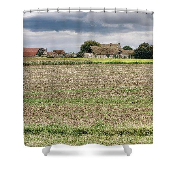 A Bygone Era Shower Curtain