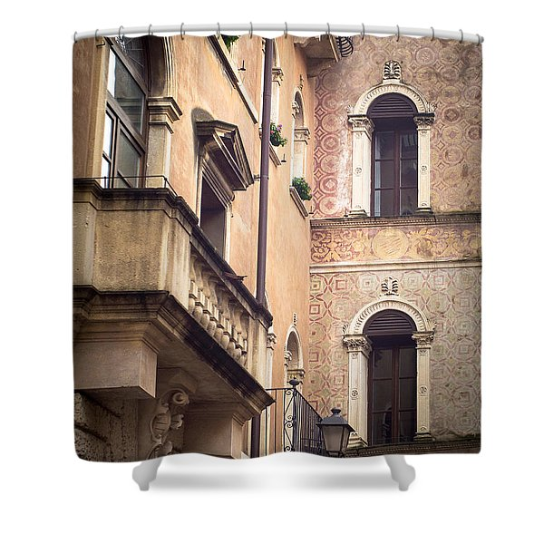 A Corner Of Vicenza Italy Shower Curtain