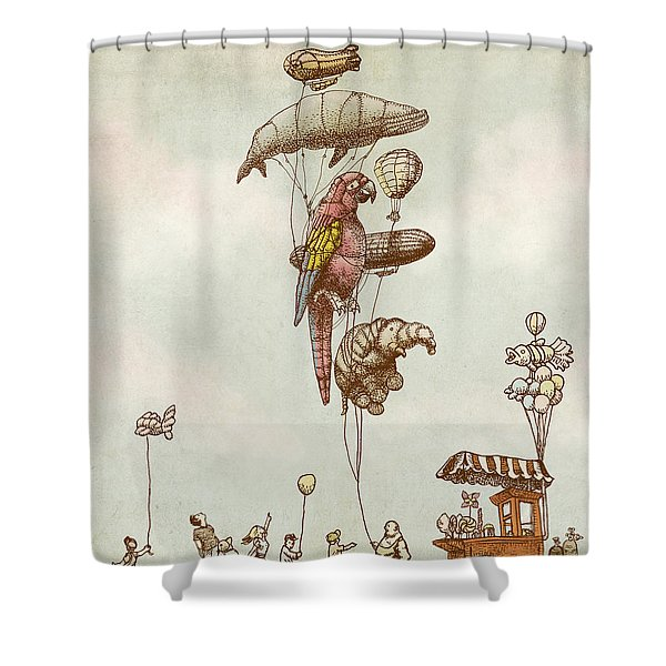 A Day At The Fair Shower Curtain