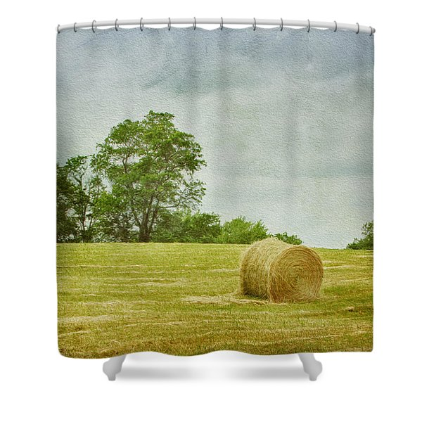 A Day At The Farm Shower Curtain