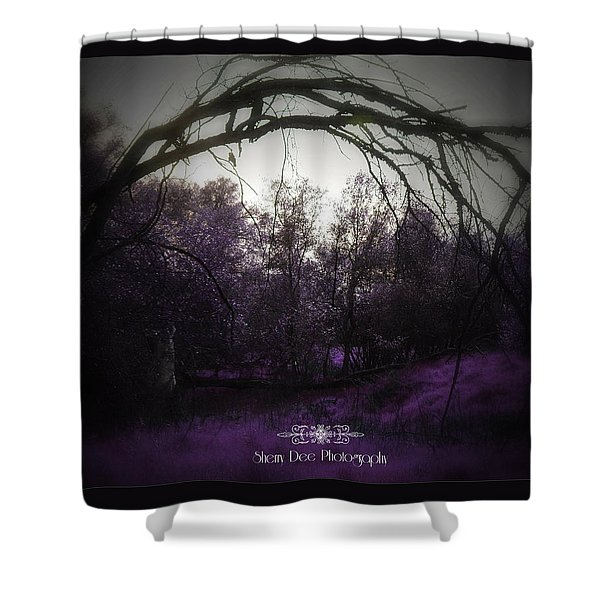 A Far Off Place Shower Curtain