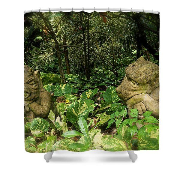 The Chat Shower Curtain