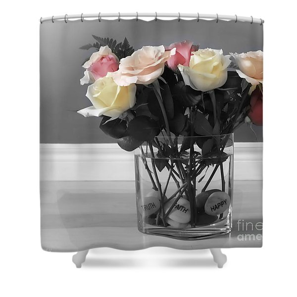 A Foundation Of Love Shower Curtain