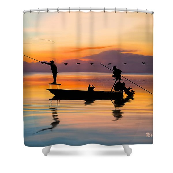 A Glorious Day Shower Curtain