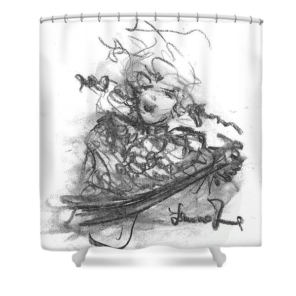 A Great Musician Shower Curtain