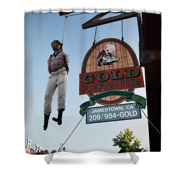 A Hanged Man In Jamestown Shower Curtain